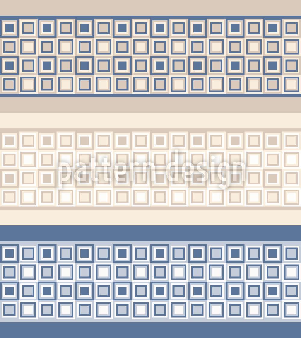 Designtapete Mosaik Bordüren