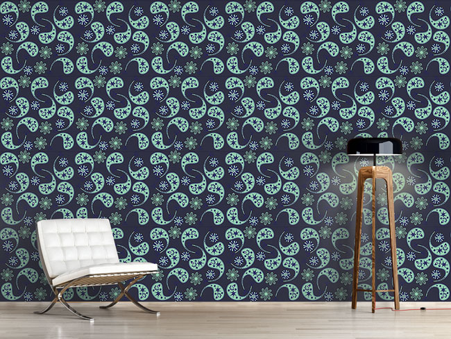 Designtapete Oh Mein Paisley