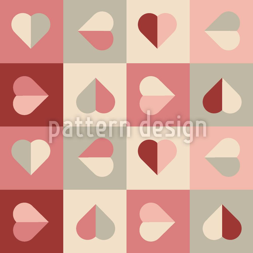 Designtapete Weiches Herz