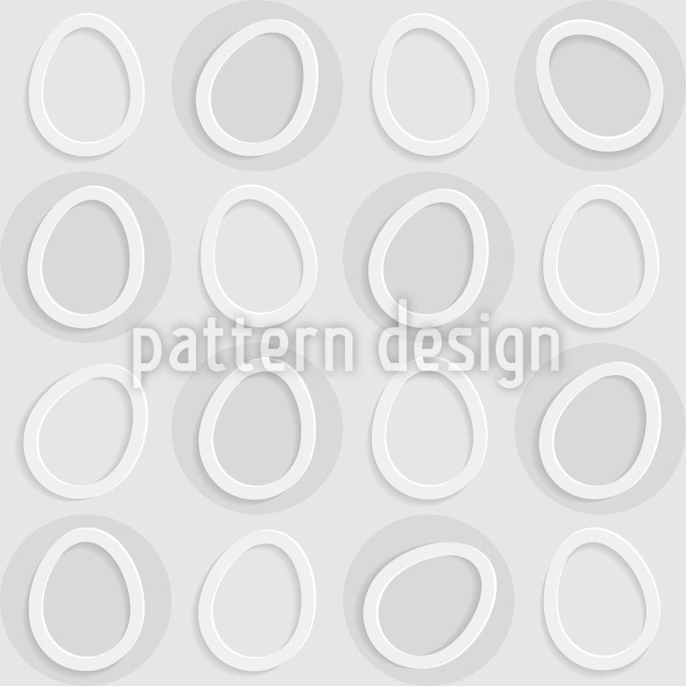 Designtapete Eier Im Kreis