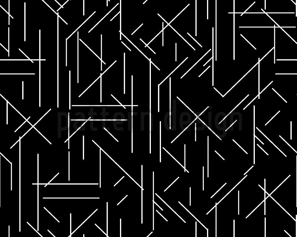 Designtapete Linien Chaos