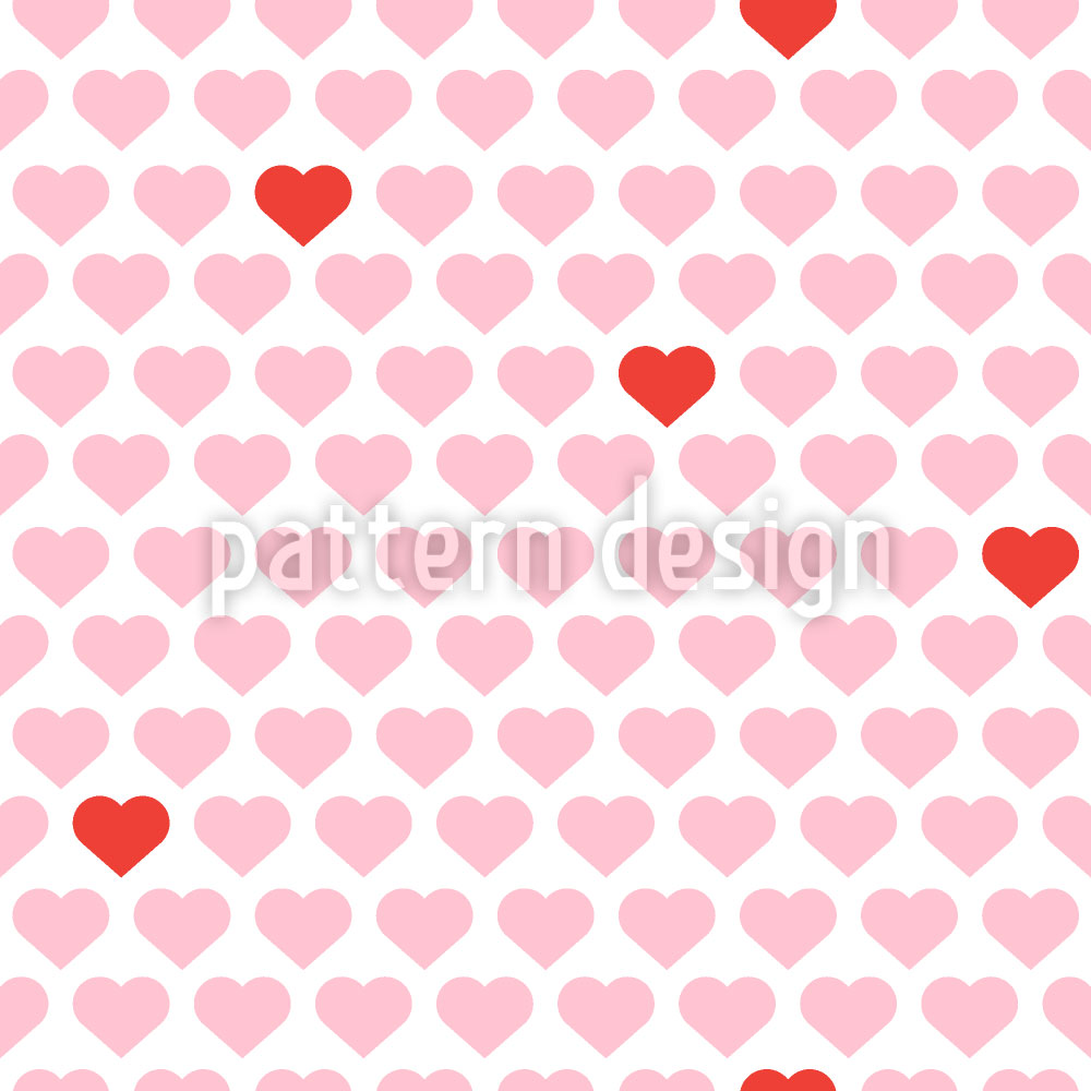 Designtapete Mein Valentinsherz