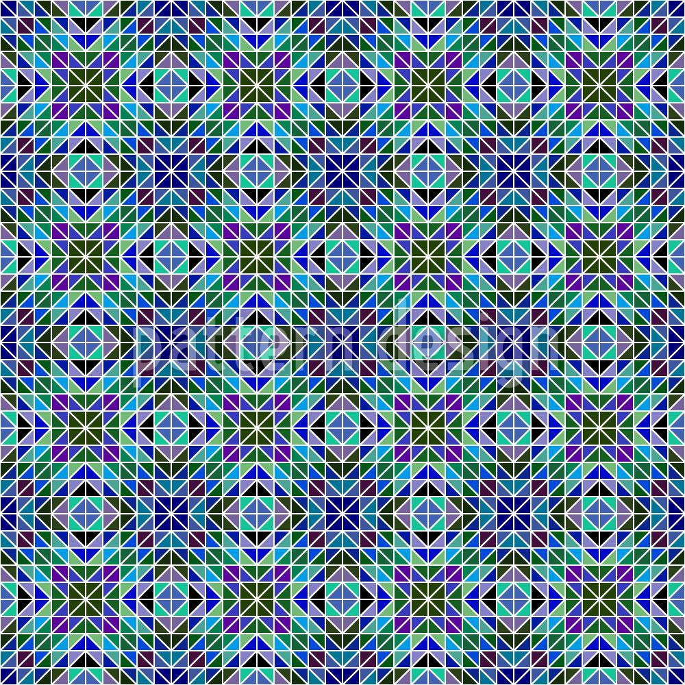 Designtapete Irisierendes Mosaik