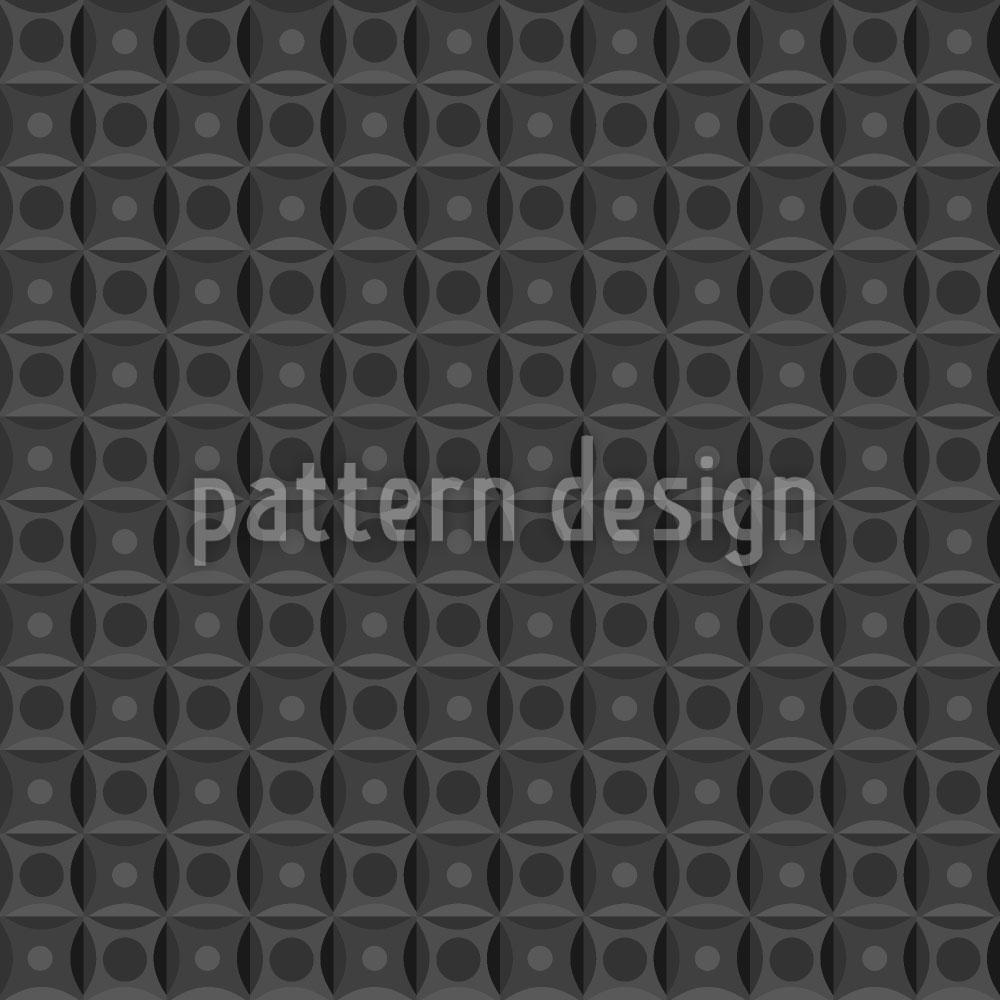 Designtapete Symmetrie Auf Den Punkt Gebracht