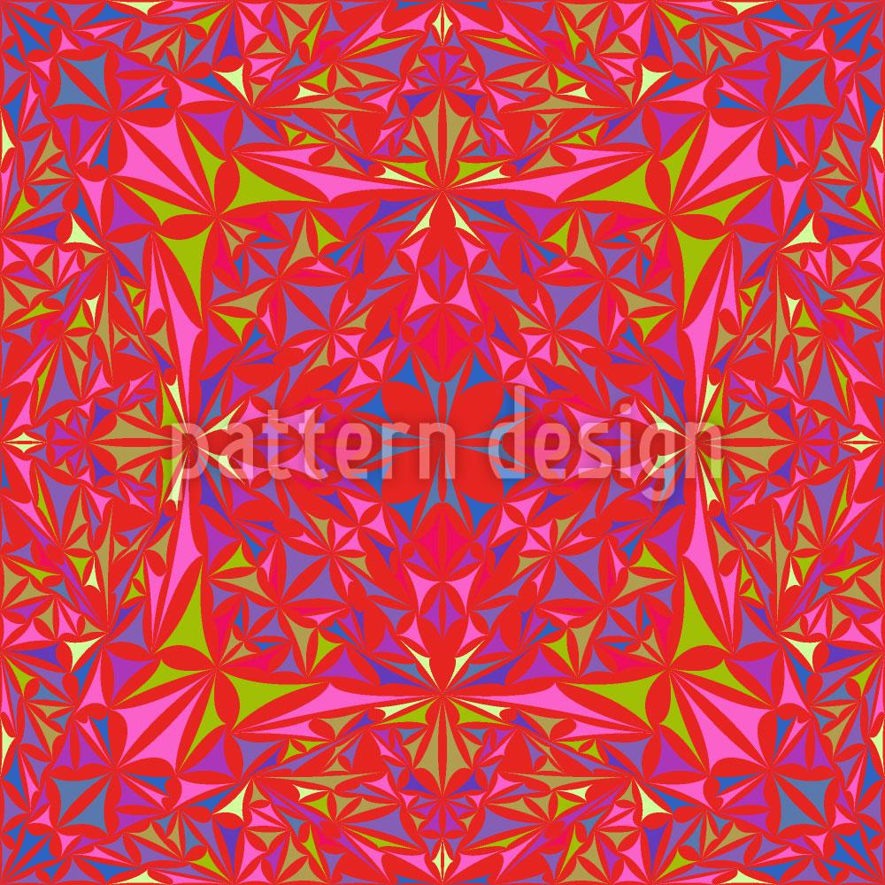 Designtapete Kaleidoskop Vision