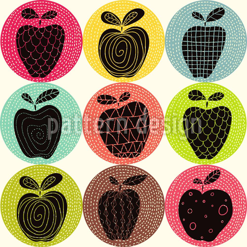 Designtapete Ein Apfel Am Tag