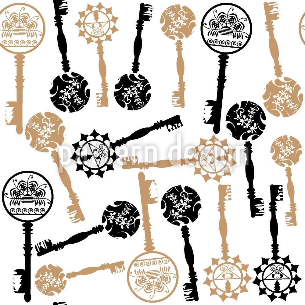 Designtapete Schönheit Der Schlüssel