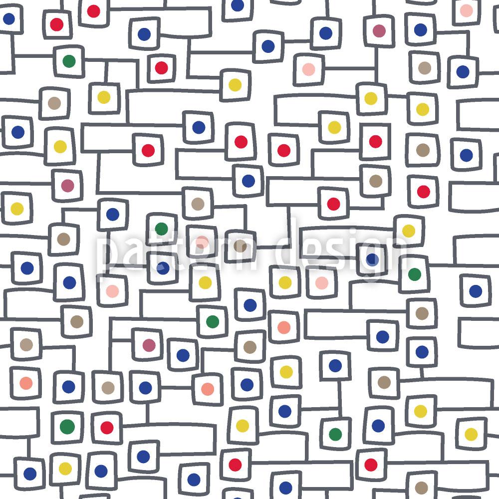 Designtapete Ausgangspunkte Im Quadrat