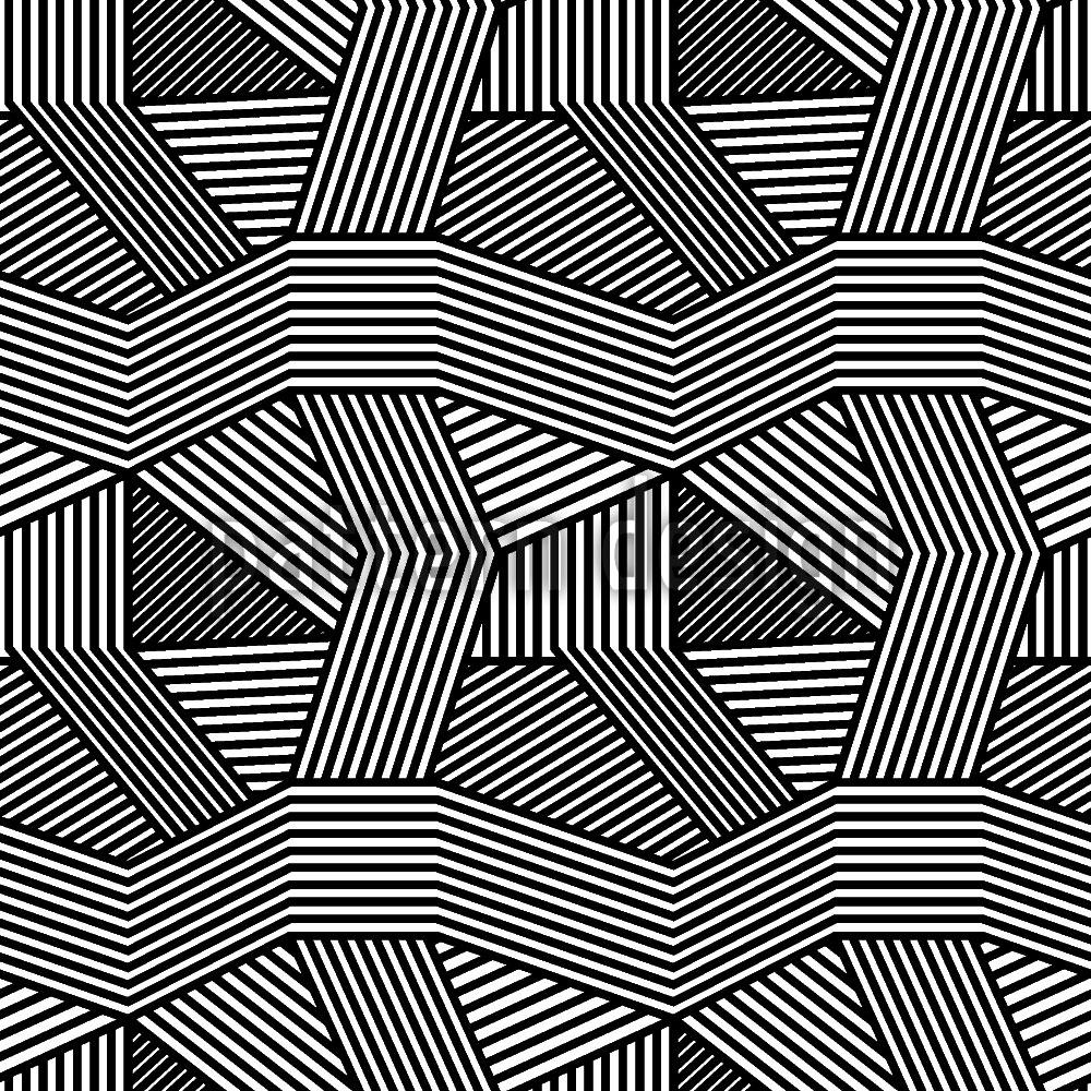 Designtapete Geometrisches Chaos
