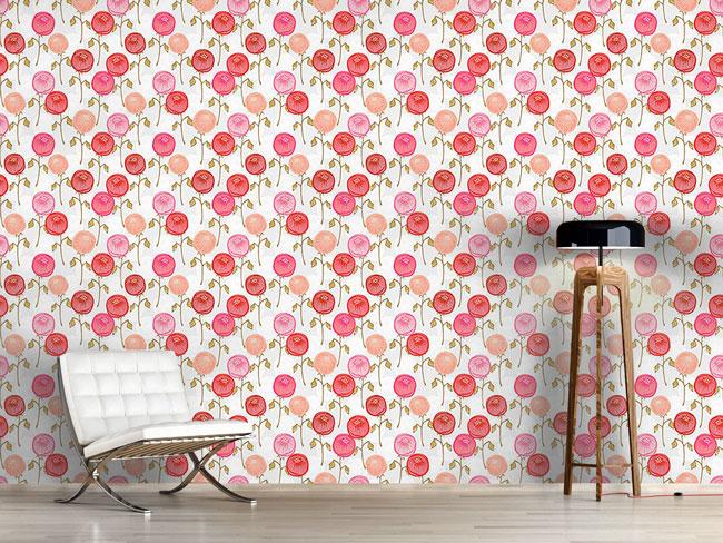 Designtapete Antigua Floral
