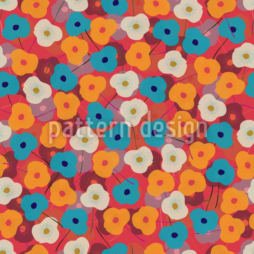 Designtapete Felicidad Floral