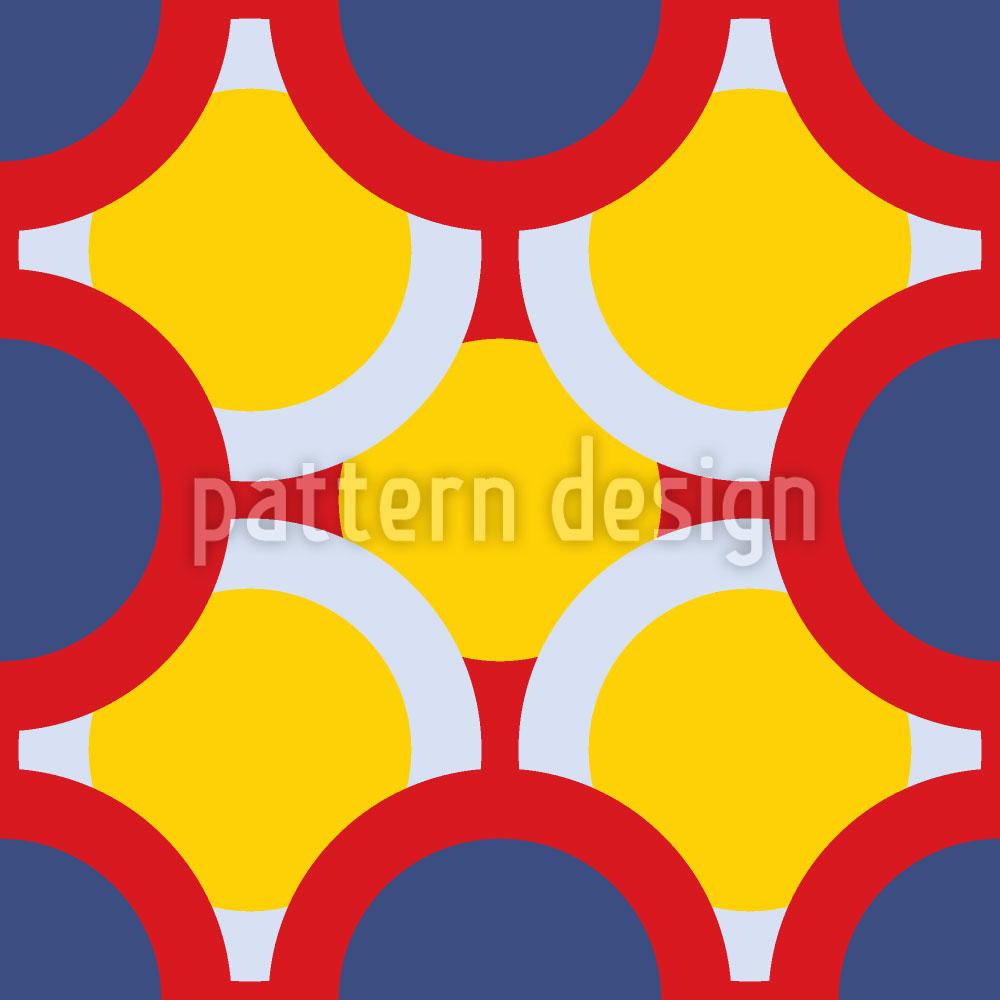 Designtapete Kreise Verdecken Die Sonne