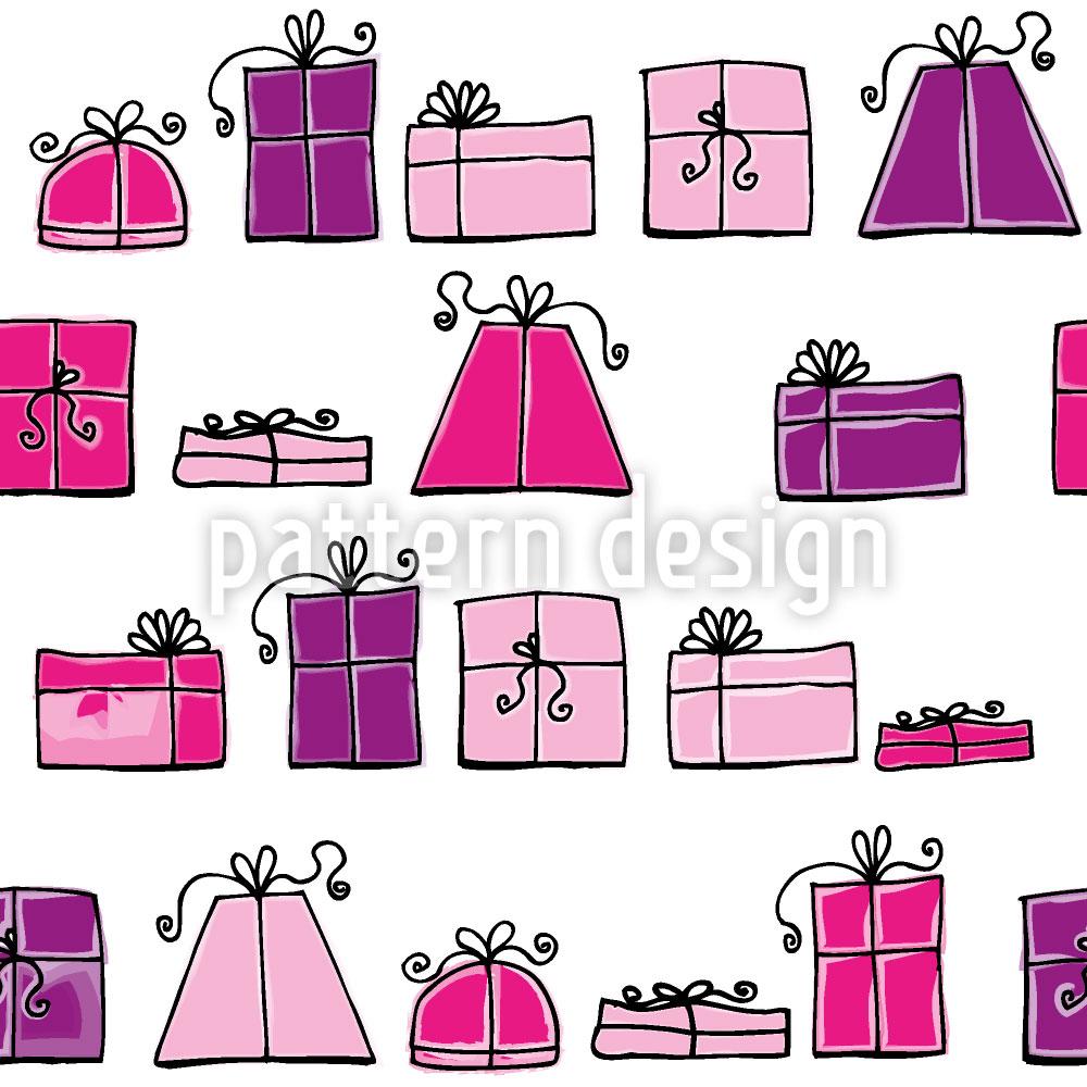 Designtapete Wunschpunsch Pink