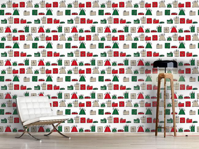 Designtapete Wunschpunsch Weihnacht