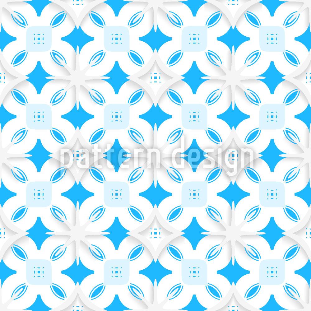 Designtapete Schneeflocke Aus Papier