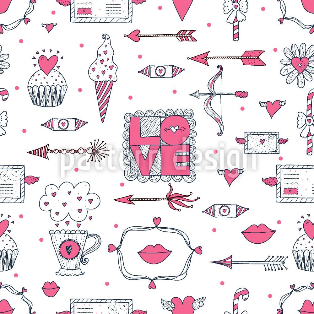 Designtapete Liebe Und Andere Dinge