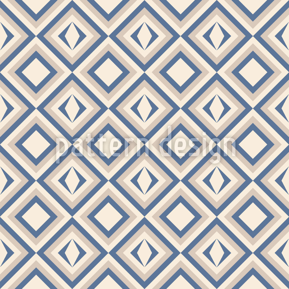 Designtapete Quadratische Einblicke
