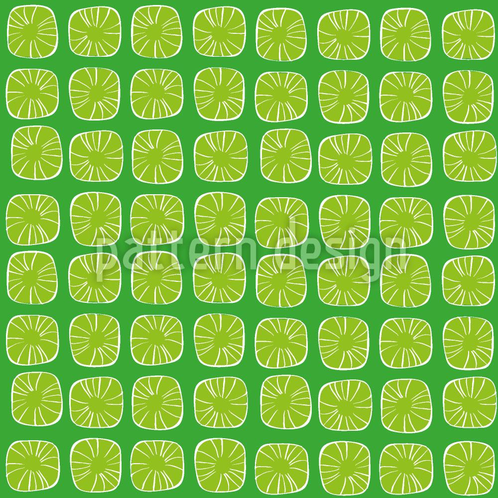 Designtapete Zitronen Bonbons