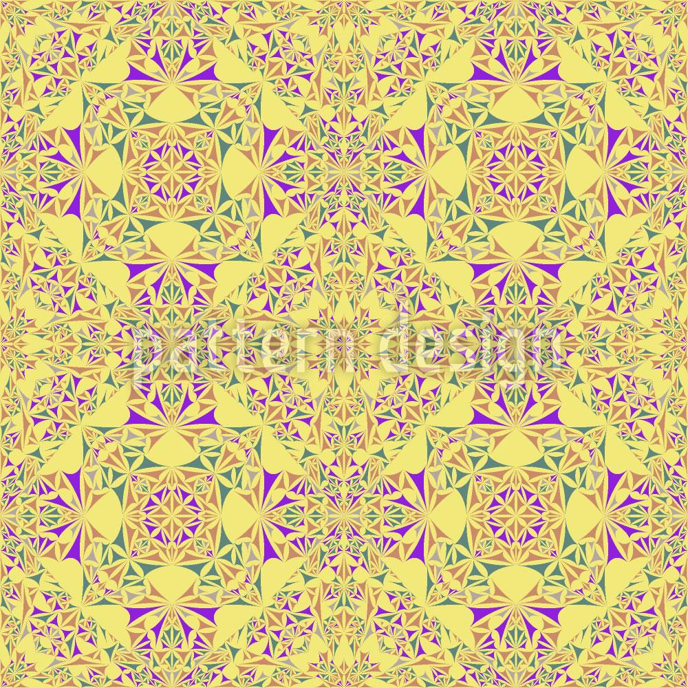 Designtapete Kaleidoskop Im Frühling