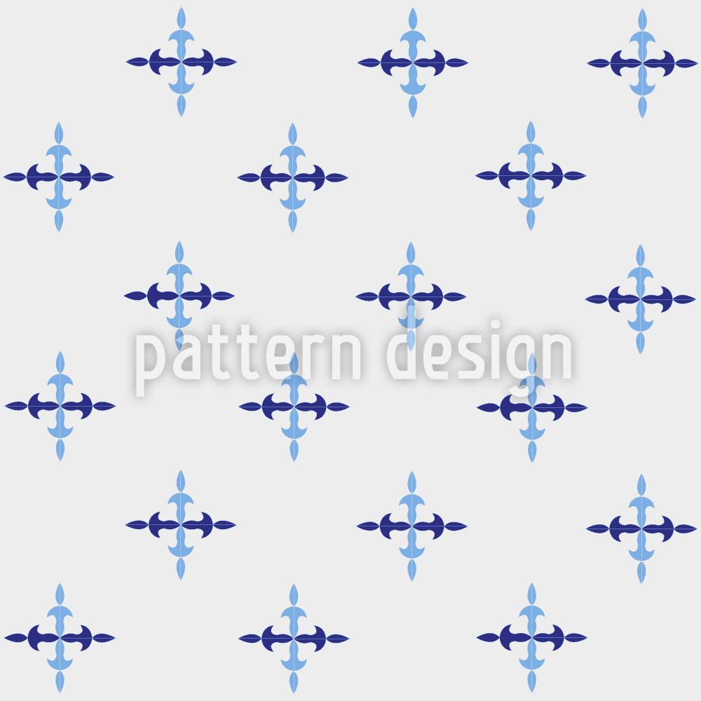 Designtapete Eiszapfen Kreuze