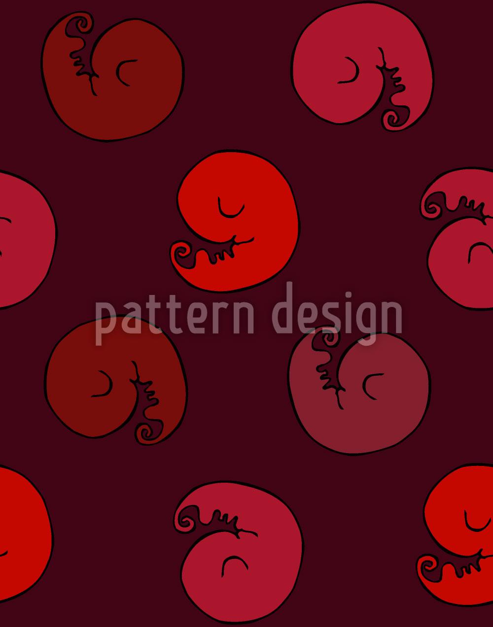 Designtapete Kleine Embryos