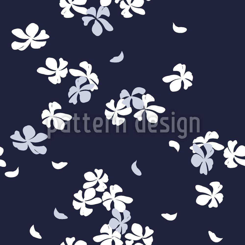 Designtapete Kirschblüten Bei Nacht