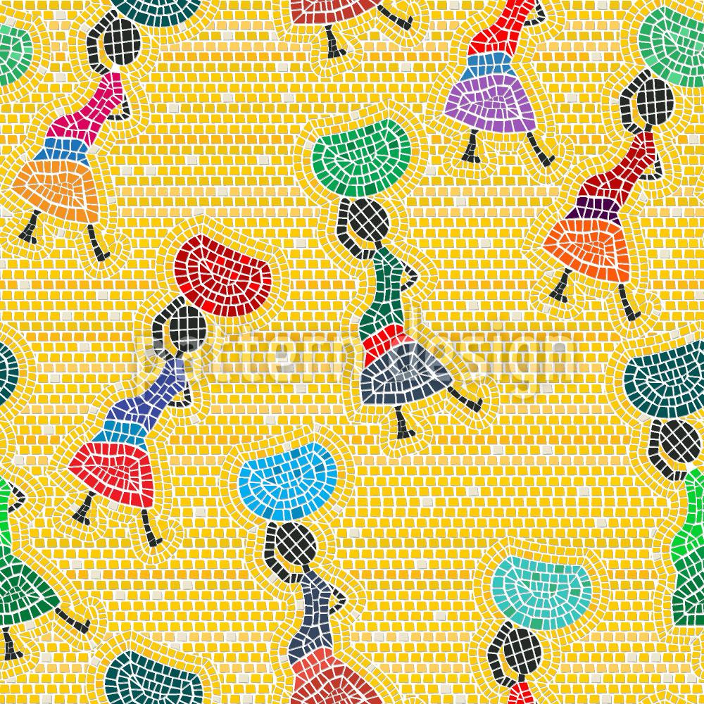 Designtapete Afrikas Frauen