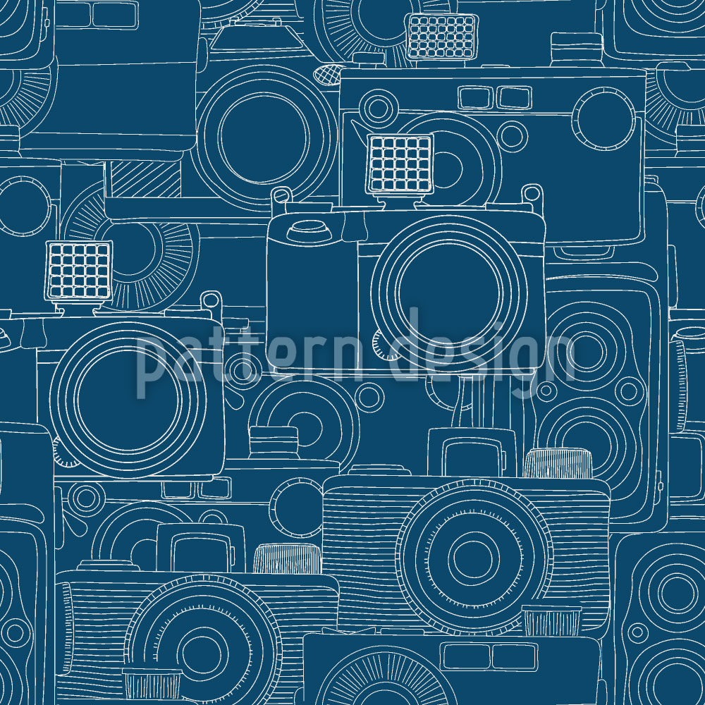 Designtapete Kamera Shop