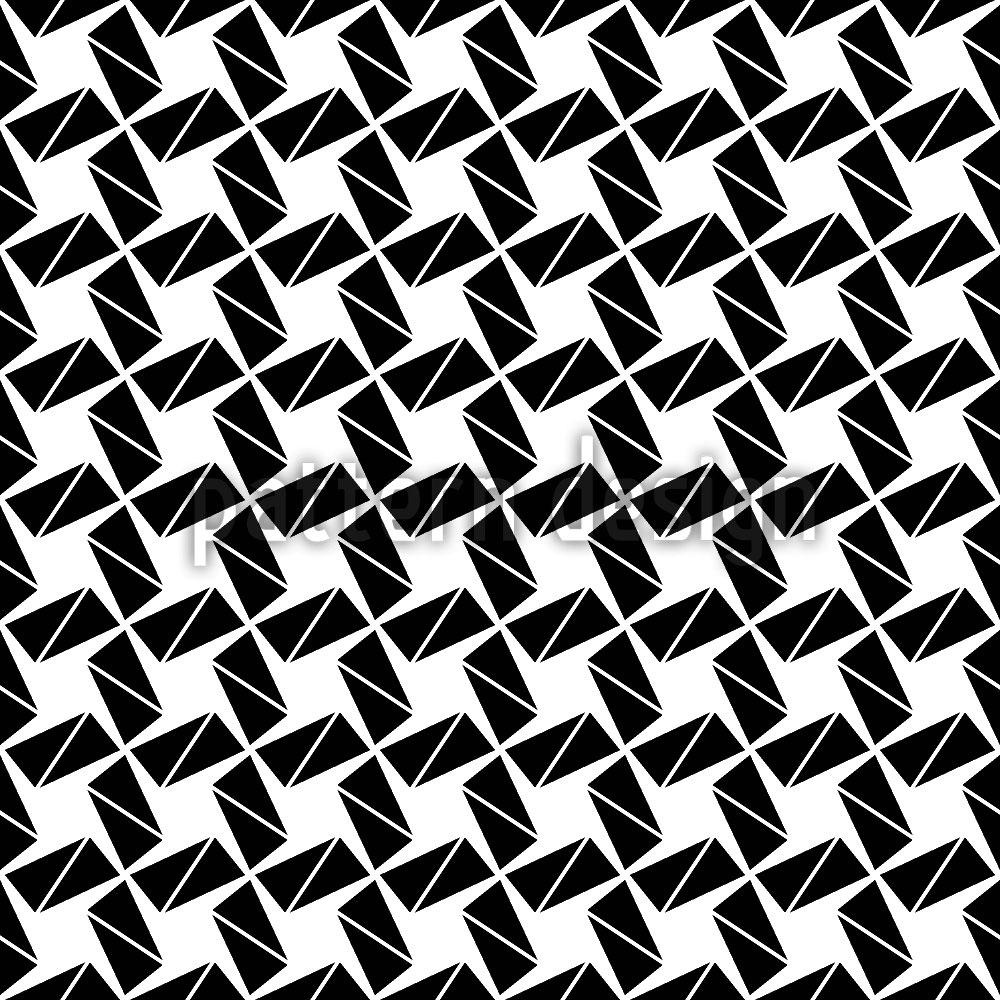 Designtapete Rotation Zum Quadrat