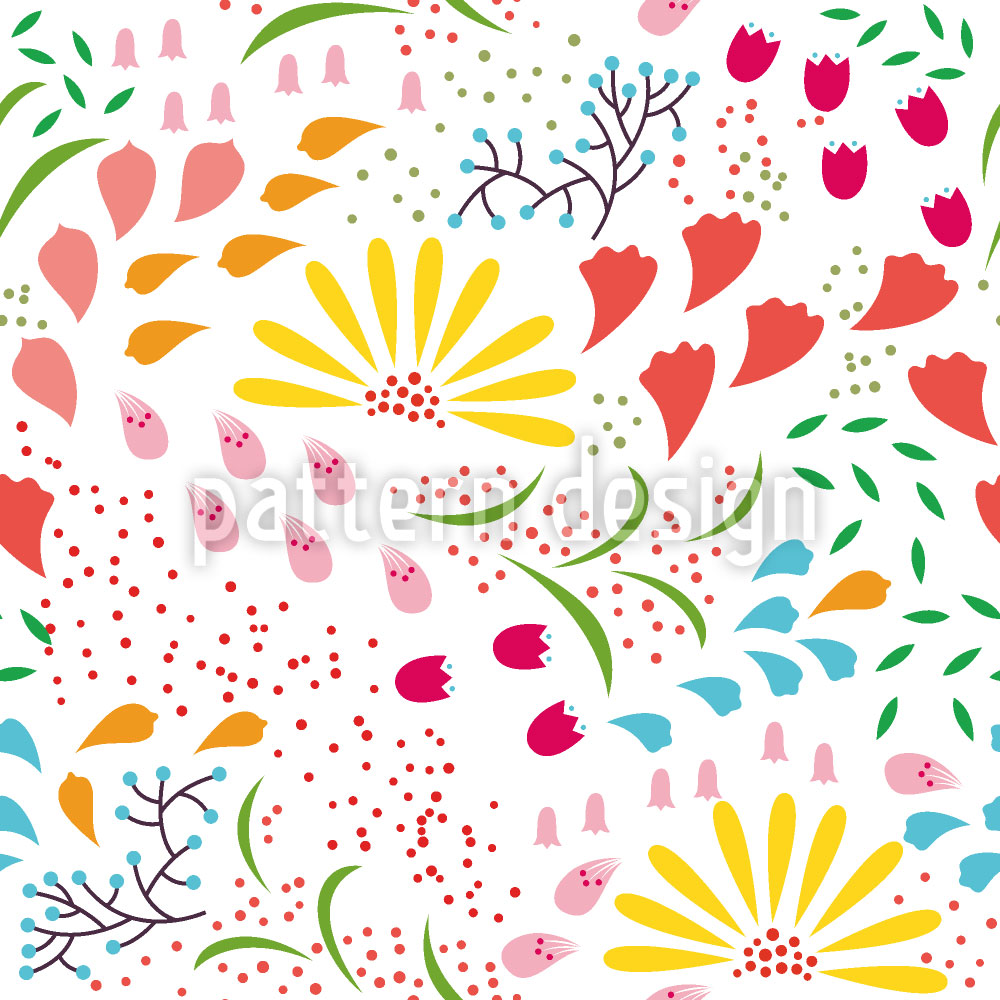 Designtapete Zauberhafte Blüte