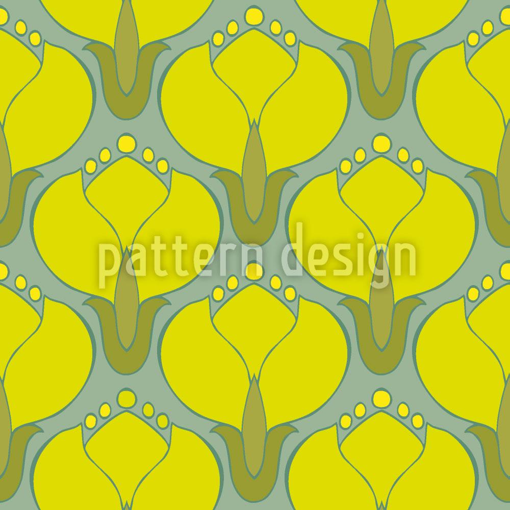 Designtapete Blühende Kornelkirschen