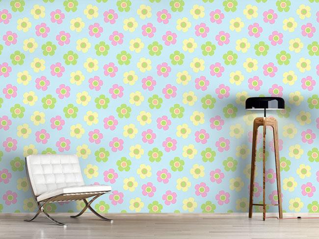 Designtapete Yenty Floral