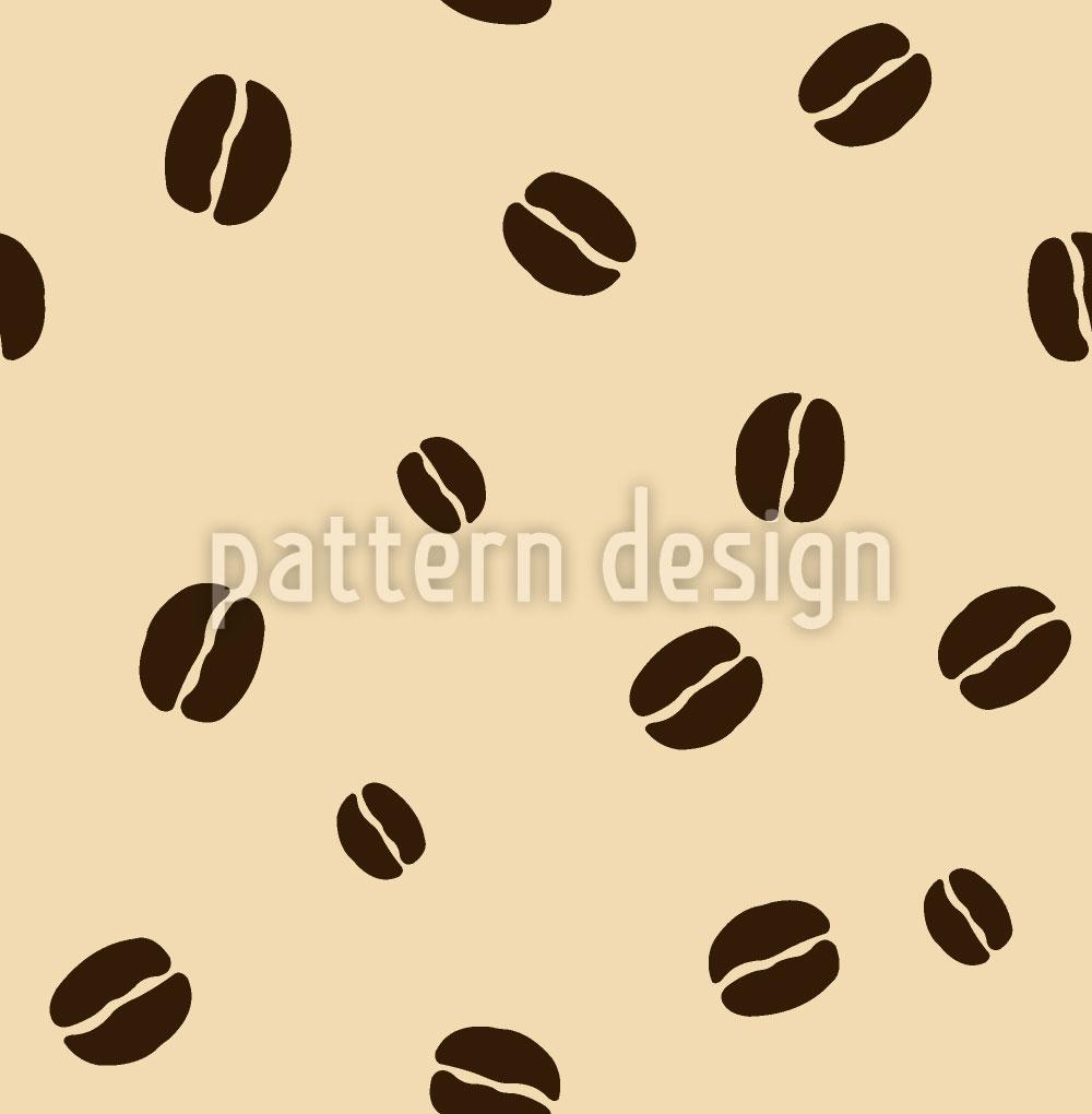 Designtapete Kaffeebohnen