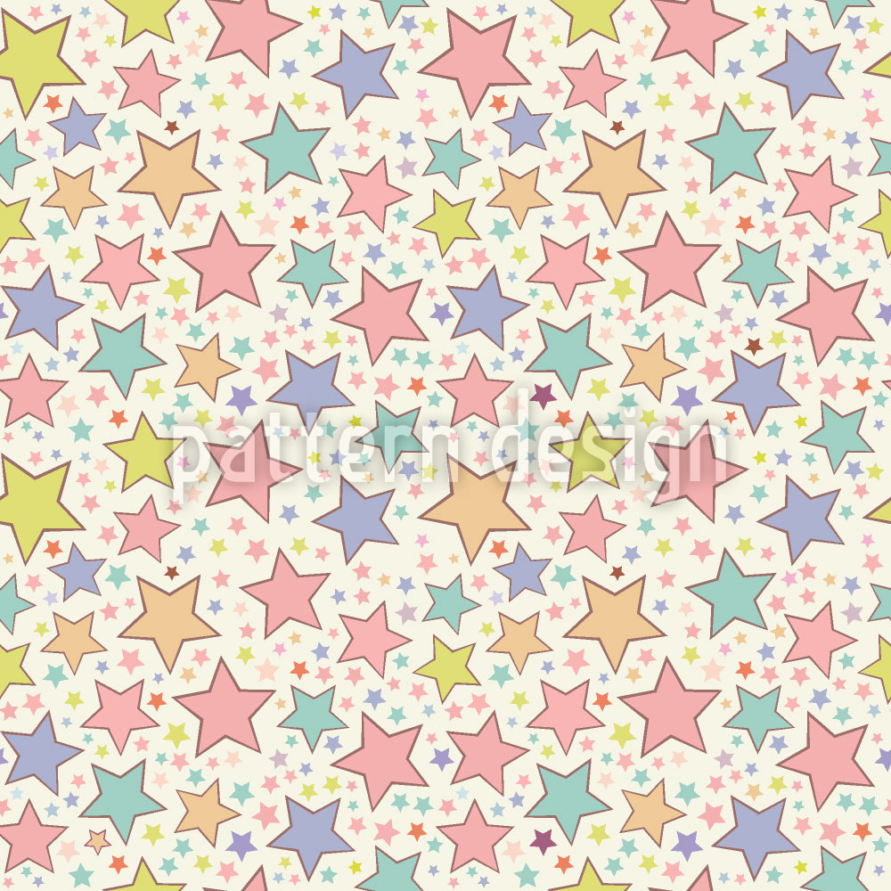 Designtapete Sternen Zauber