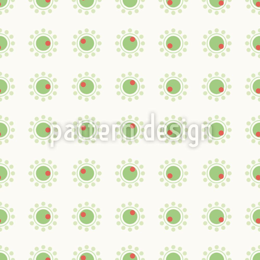 Designtapete Kleine Oliven