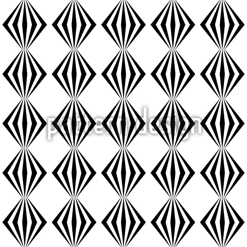 Designtapete Lampion Geometrie
