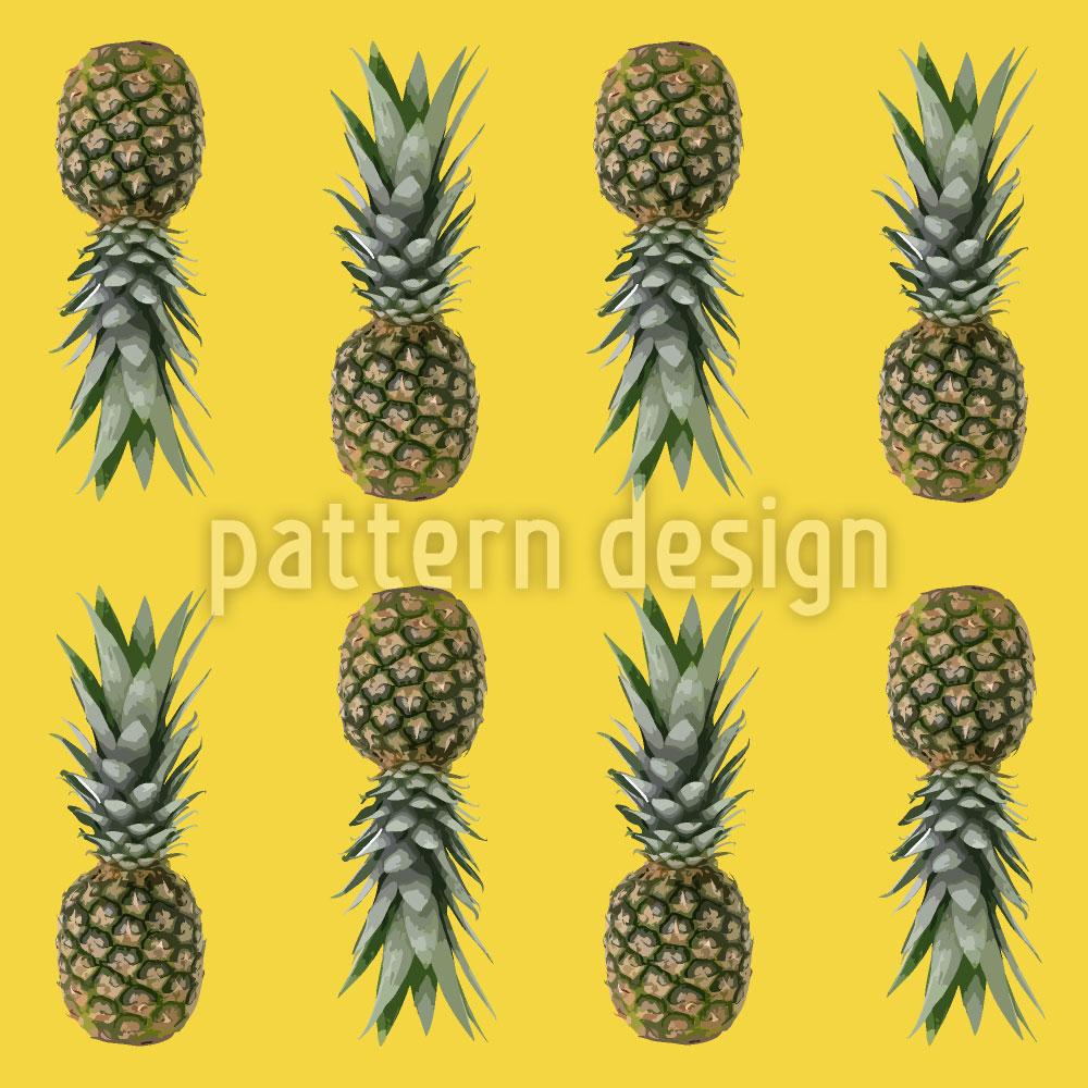 Designtapete Ananas Aus Brasilien