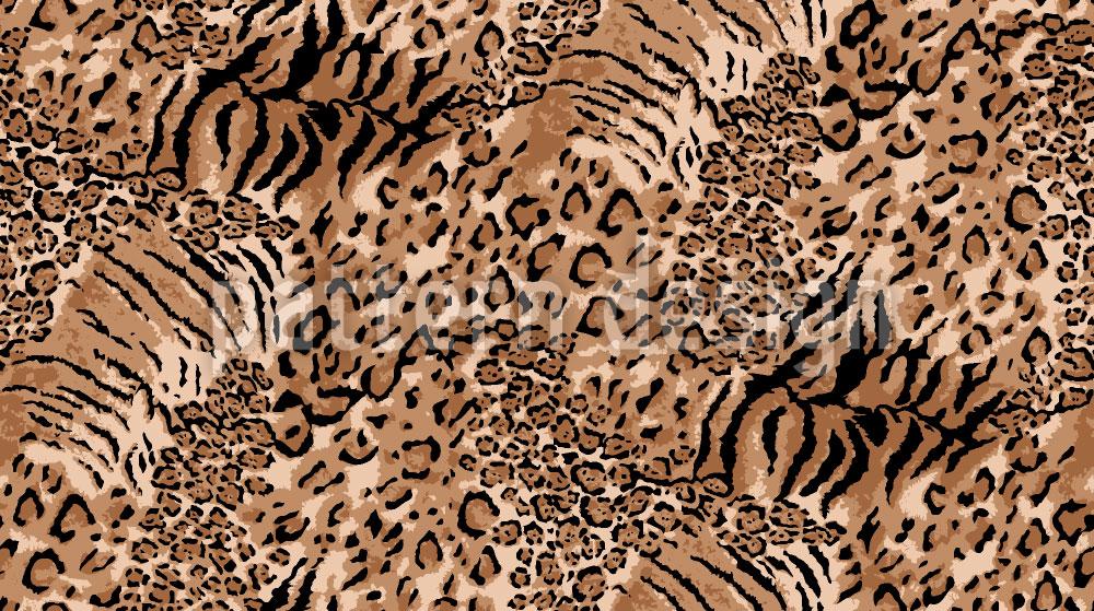 Designtapete Wildkatzen