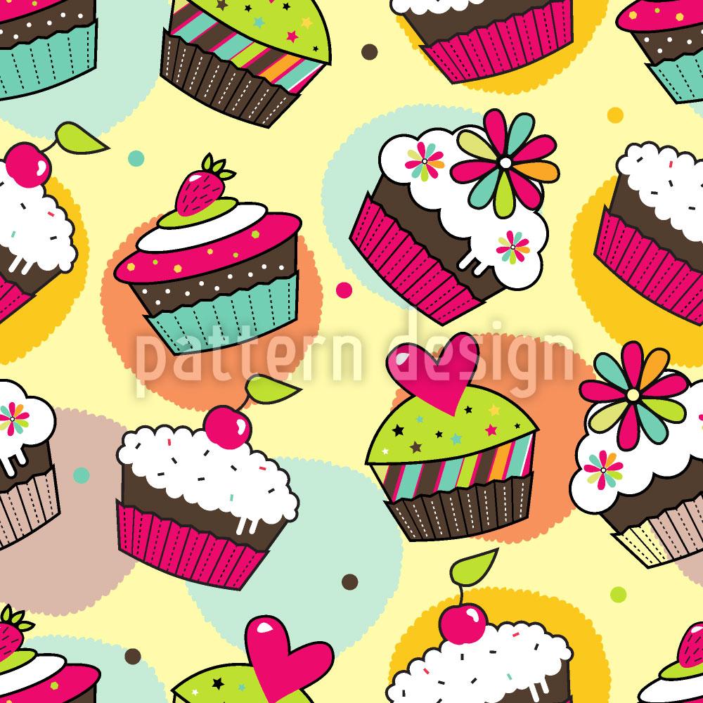 Designtapete Muffin Träume