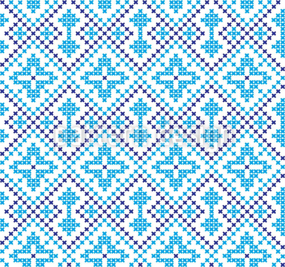 Designtapete Stickerei Aus Der Ukraine