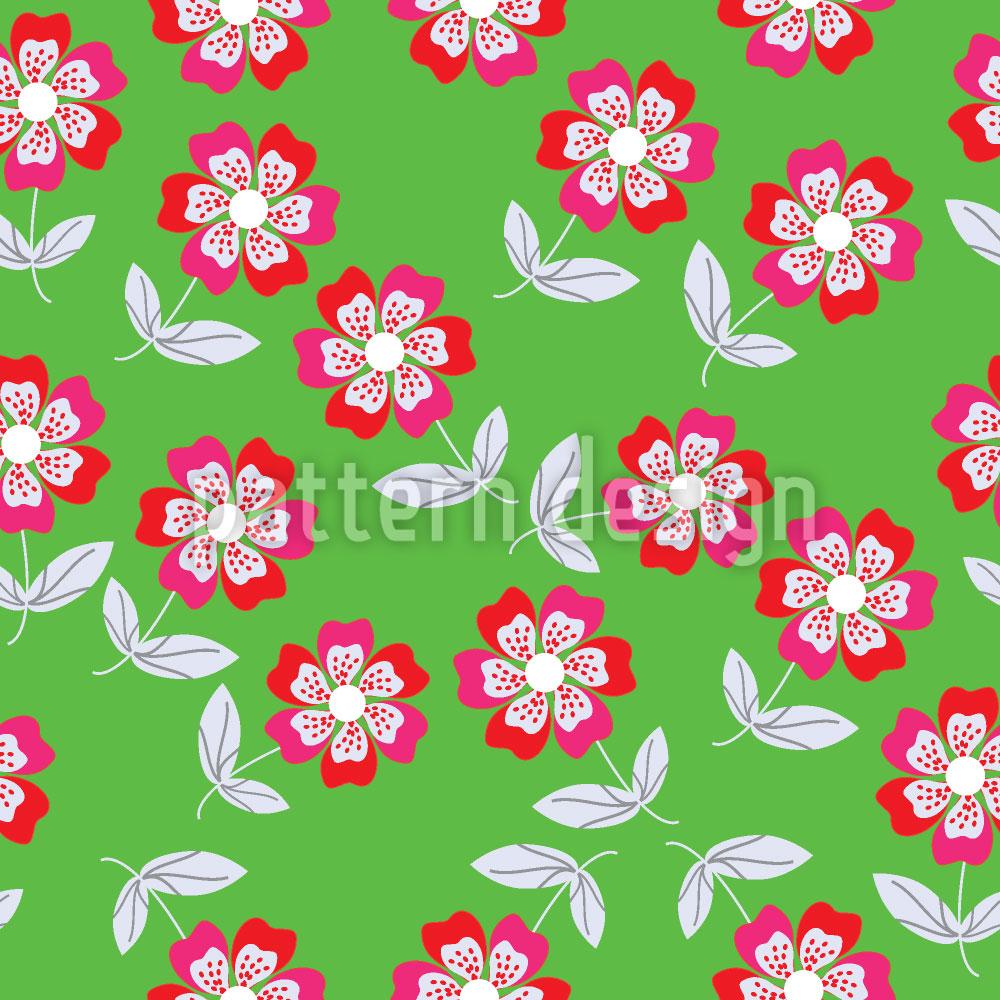 Designtapete Sommer Blumen Bringen Freude