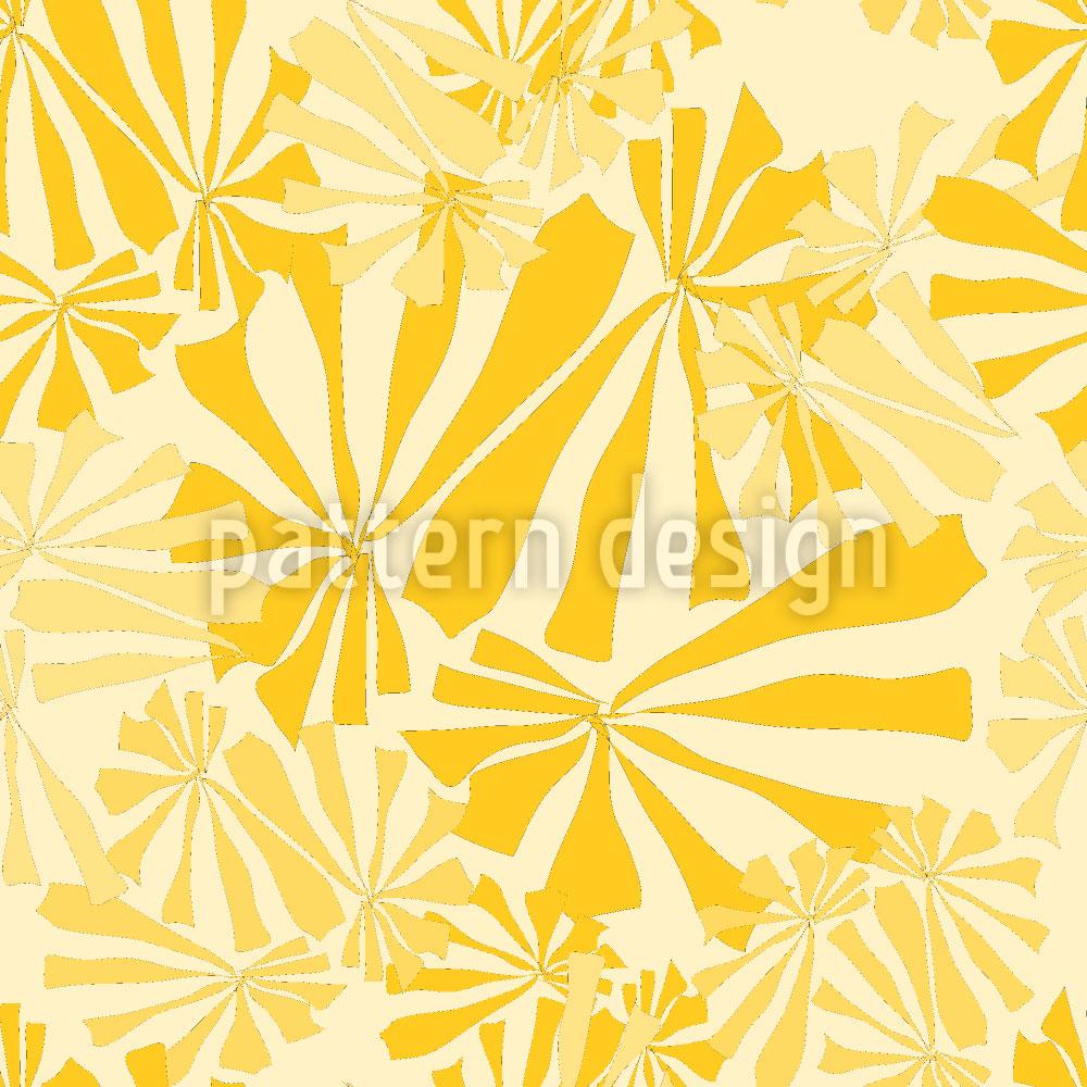Designtapete Sonnenblumen Explosion