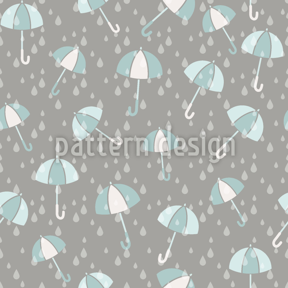 Designtapete Schirme Im Regen