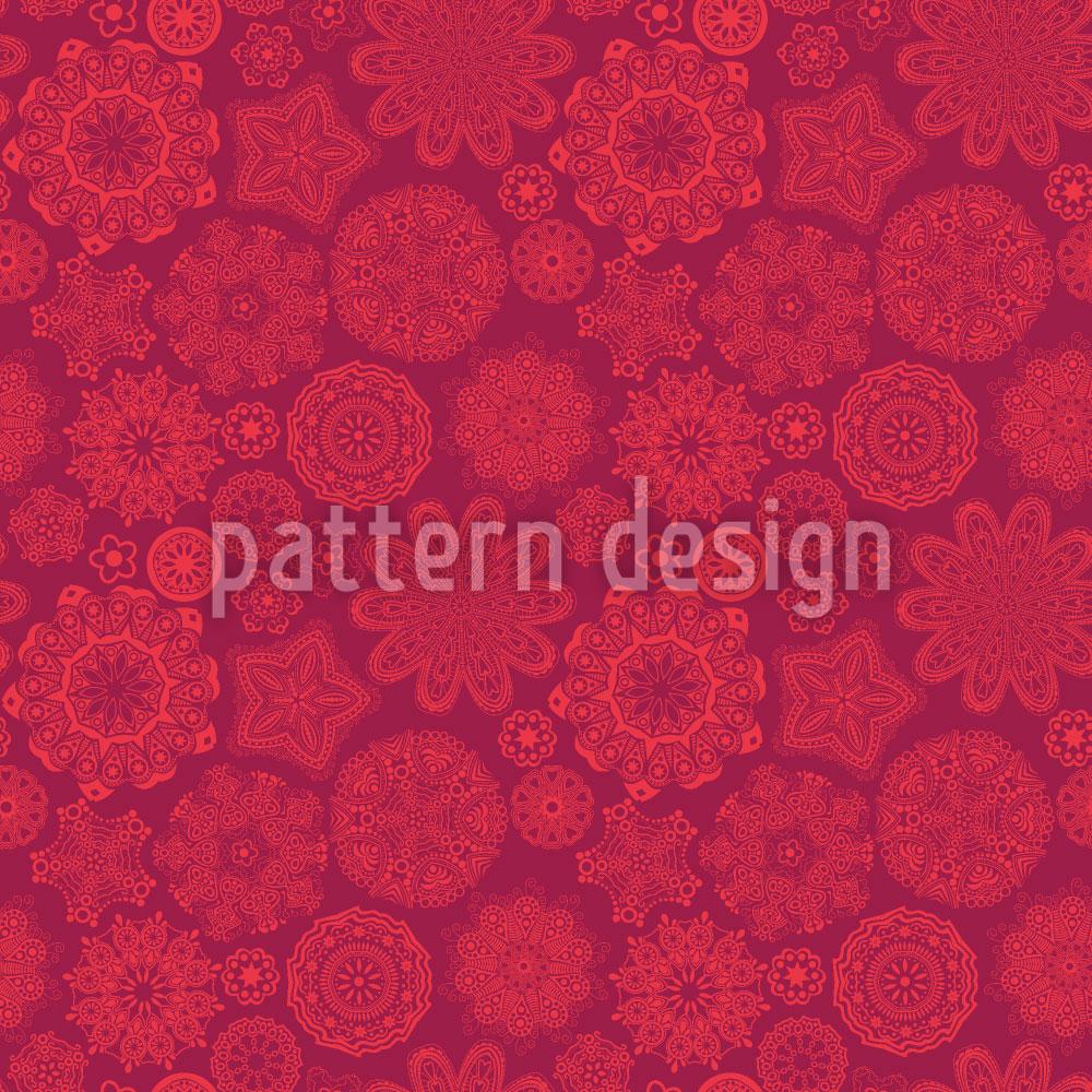 Designtapete Ornamentale Pracht