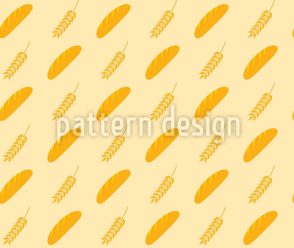 Designtapete Brot Und Ähre