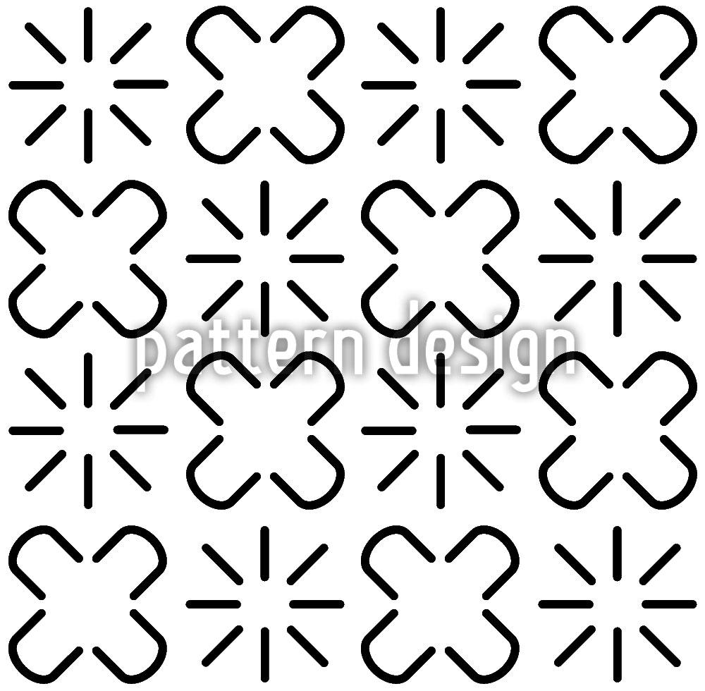 Designtapete Afrikanische Zeichensprache