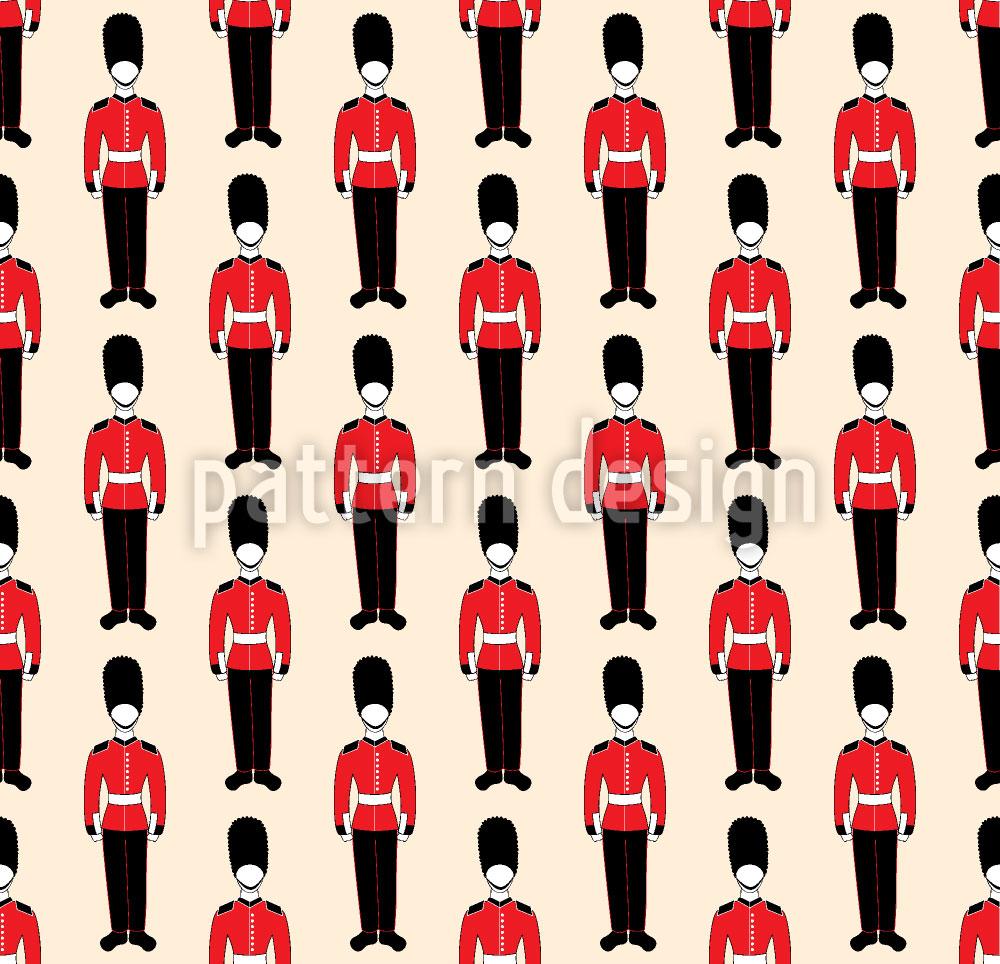 Designtapete Britische Parade
