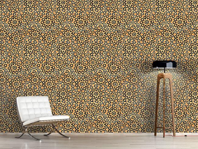 Designtapete Archaisches Mosaik