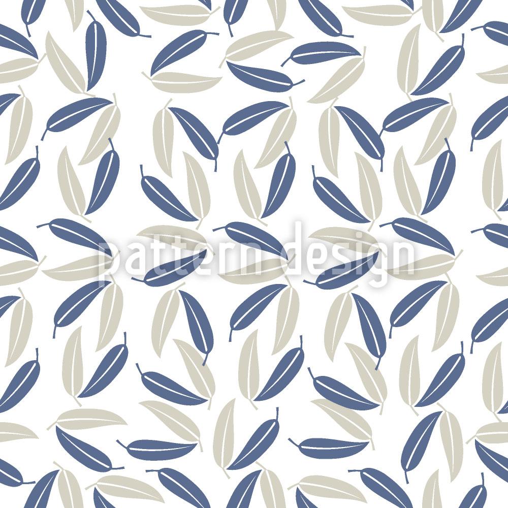 Designtapete Hawaiianische Blätter
