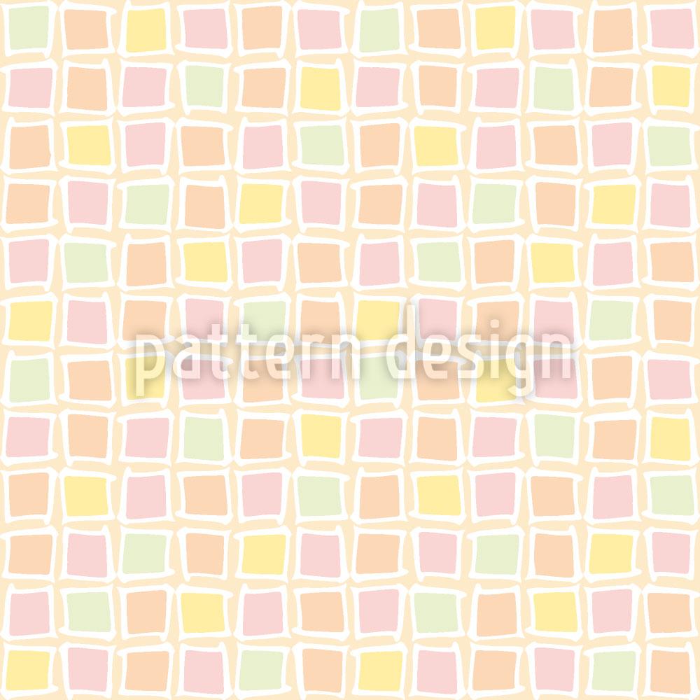 Designtapete Mosaik Glas